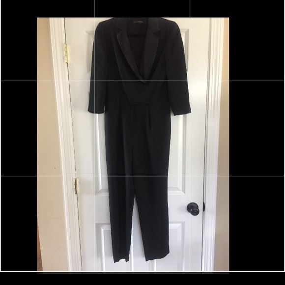 4c2dbc24672 Banana Republic Pants - Banana Republic black tuxedo jumpsuit size 0